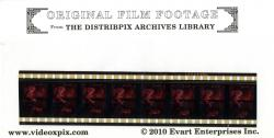 Film strip collectible with envelope-Actual size is 3 1/2 inches high x 7 inches
